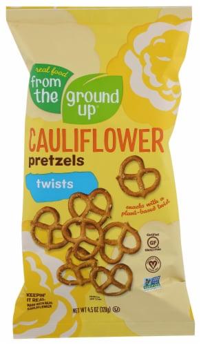 From The Ground Up Original Cauliflower Pretzel Twists Perspective: front