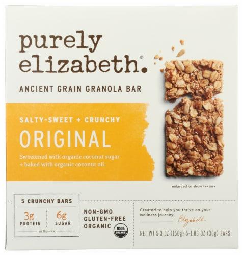 Purely Elizabeth Organic Gluten Free Original Ancient Grain Granola Bars Perspective: front
