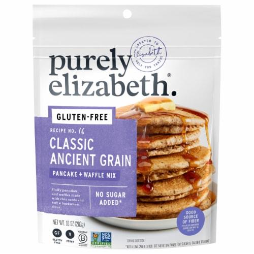 Purely Elizabeth Ancient Grain Pancake Mix Perspective: front