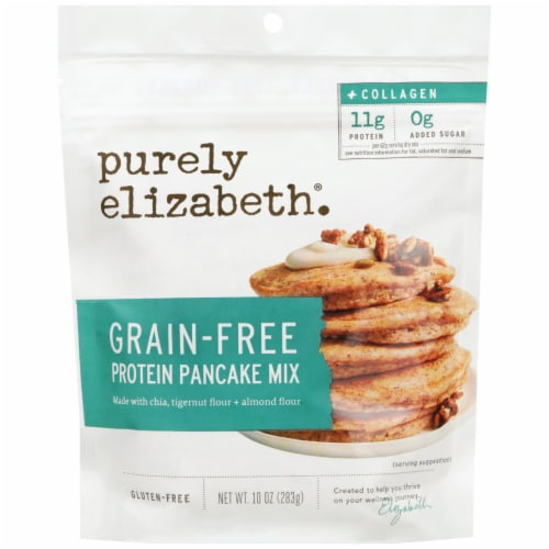 Purely Elizabeth® Grain-Free Collagen Pancake Mix Perspective: front