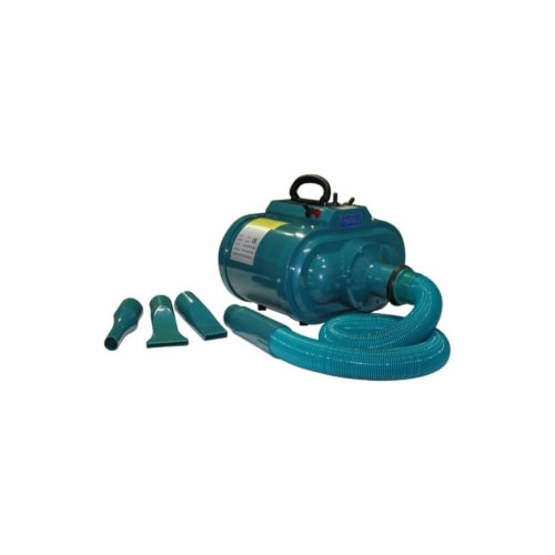 Go Pet Club DT-505 GoPetClub Dog Cat Pet Grooming Hair Double-Motor Dryer Perspective: front