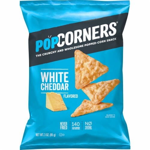 PopCorners® White Cheddar Popped-Corn Snack Perspective: front