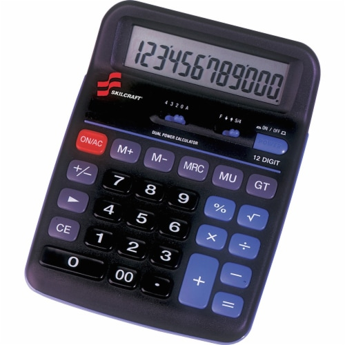 SKILCRAFT  Simple Calculator 7420014844560 Perspective: front