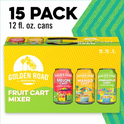 Golden Road Brewing Fruit Cart Mixer Variety Pack Perspective: front