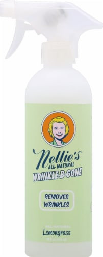 Nellie's Lemongrass All-Natural Wrinkle-B-Gone Perspective: front