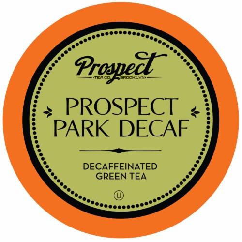 Prospect Tea Prospect Park Decaf Green Tea Pods for Keurig K-Cup Makers, 40 Count Perspective: front