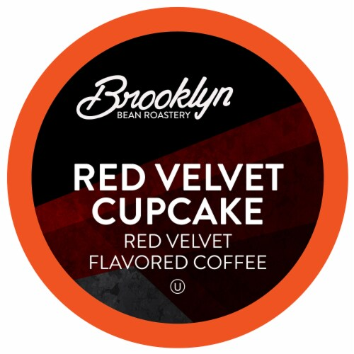 Brooklyn Beans Red Velvet Coffee Pods for Keurig 2.0 K-Cup Brewers,  Four-24 Count Boxes Perspective: front