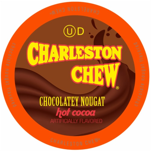 Charleston Chew Chocolate Hot Cocoa for Keurig K-Cup Brewers, 40 Count Perspective: front