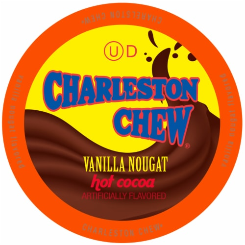 Charleston Chew Vanilla Hot Cocoa for Keurig K-Cup Brewers, 40 Count Perspective: front