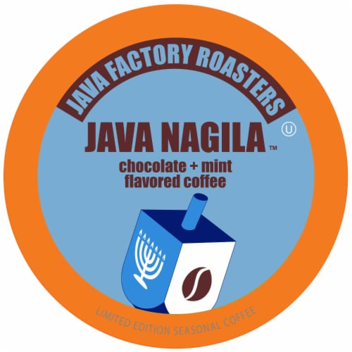 Java Factory Java Nagila Single-Cup Coffee for Keurig K-Cup Brewers, 40 Count Perspective: front