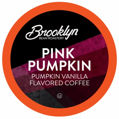 Brooklyn Beans Pink Pumpkin  Coffee Pods for Keurig 2.0 K-Cup Brewers, 40 Count Perspective: front