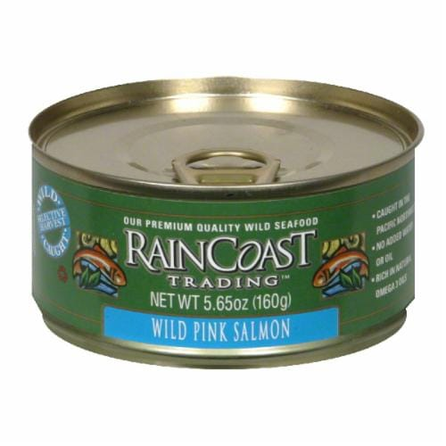 Raincoast Trading Wild Pink Salmon Perspective: front
