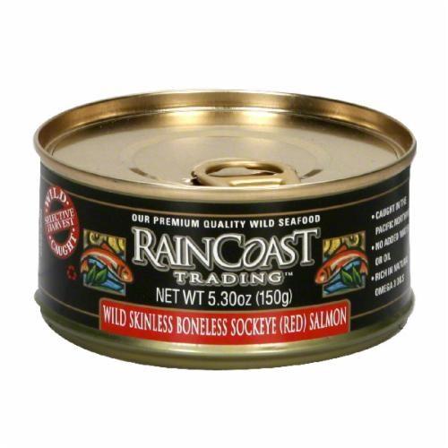 Raincoast Trading Wild Sockeye Red Salmon Perspective: front