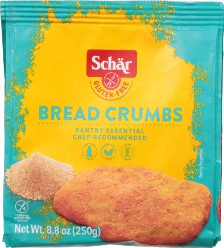 Schar Gluten Free Bread Crumbs Perspective: front
