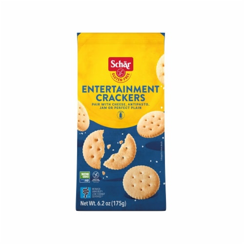 Schar Gluten Free Entertainment Crackers Perspective: front