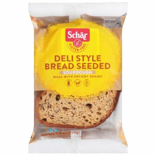 Schar Gluten Free Deli Style Seeded Bread Perspective: front