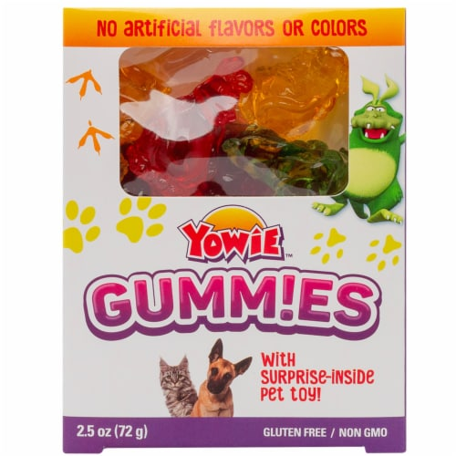 Yowie Gummies Candy Perspective: front