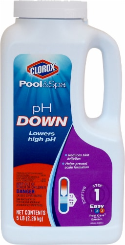Clorox Pool & Spa pH Down Step 1 Perspective: front