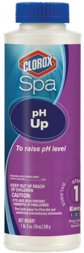 Clorox Spa pH Up Spa Treatment Perspective: front