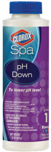 Clorox Spa pH Down Perspective: front