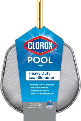 Clorox Pool & Spa Heavy Duty Leaf Skimmer Perspective: front