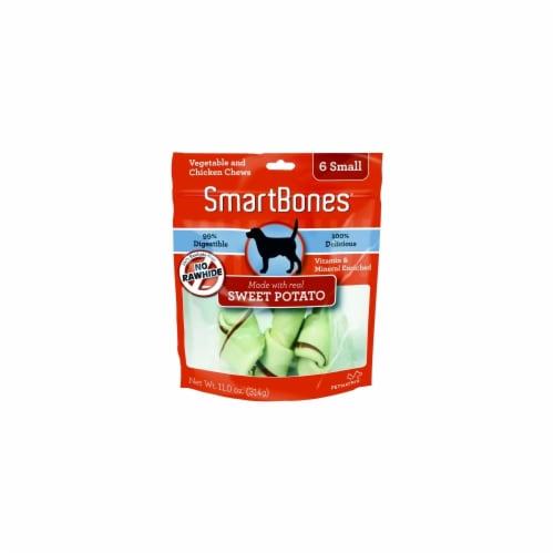 Petmatrix Smartbones Small-6 Pack Sweet Potato SBSP-02003 Perspective: front