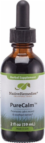 Native Remedies PureCalm Herbal Supplement Perspective: front