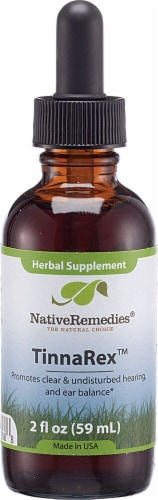 Native Remedies  TinnaRex™ Herbal Supplement Perspective: front