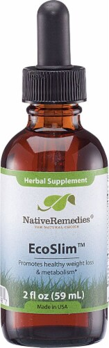 Native Remedies Eco Slim Herbal Supplement Perspective: front