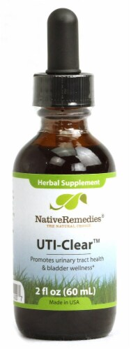 Native Remedies  UTI-Clear™ Herbal Supplement Perspective: front