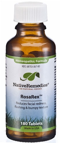 Native Remedies  RosaRex™ Homeopathic Formula Perspective: front