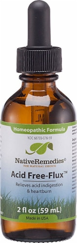 Native Remedies Acid Free-Flux Homeopathic Formula Perspective: front