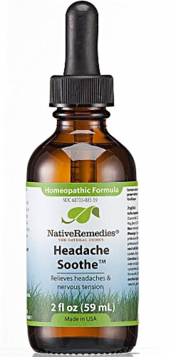 Native Remedies  Headache Soothe™ Homeopathic Formula Perspective: front