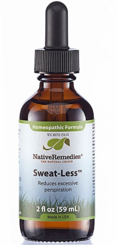 Native Remedies  Sweat-Less™ Homeopathic Formula Perspective: front