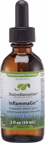 Native Remedies  InflammaGo™ Homeopathic Formula Perspective: front