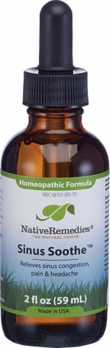 Native Remedies  Sinus Soothe™ Homeopathic Formula Perspective: front