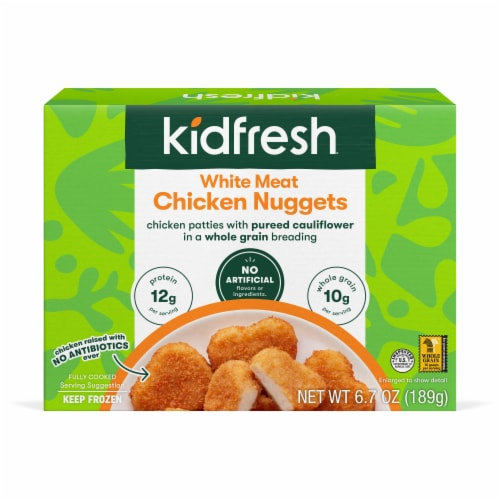 Kidfresh Super Duper Chicken Nuggets Perspective: front
