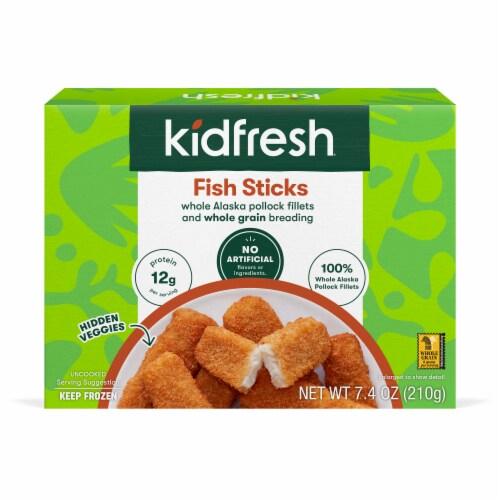 Kidfresh Fun-Tastic Fish Sticks Perspective: front