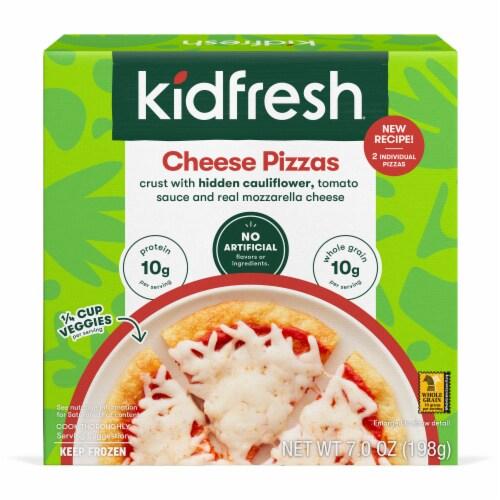 Kidfresh Mamma Mia Cheesy Pizza Perspective: front