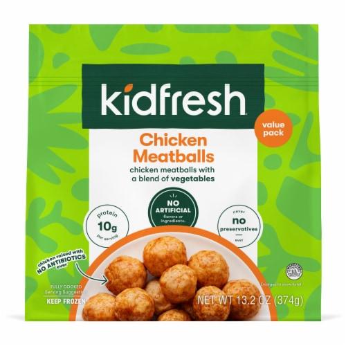 Kidfresh Mighty Meaty Chicken Meatballs Perspective: front