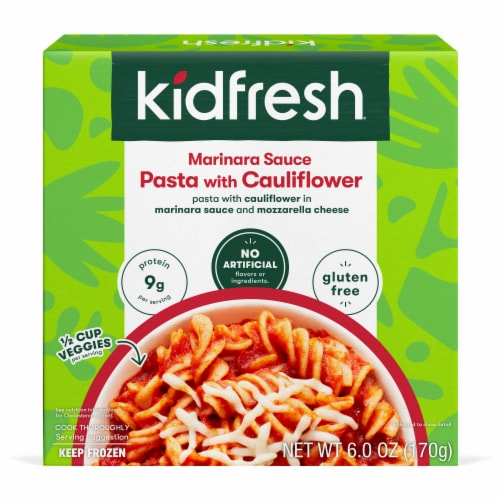Kidfresh Marinara Sauce Pasta with Cauliflower Perspective: front