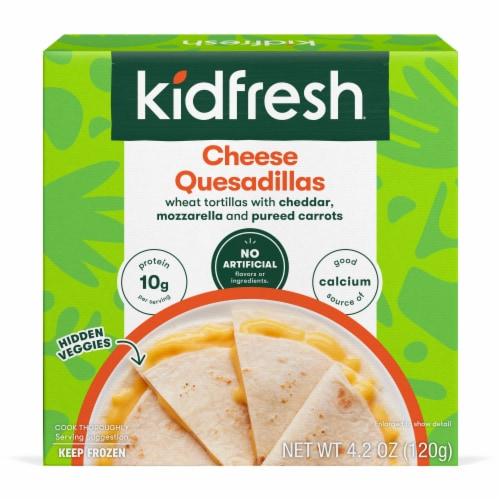 Kidfresh Muy Cheesy Quesadillas Perspective: front
