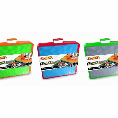 Blokko 2319975 Build & Go Storage Case - Case of 12 Perspective: front