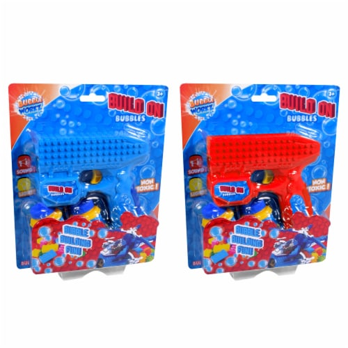 Anker Bubble Workz Build On Blocks Bubbles Blaster - Assorted Perspective: front