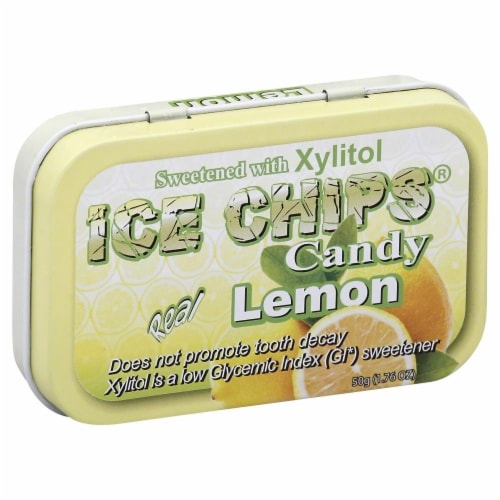 Ice Chips Lemon Candy Perspective: front