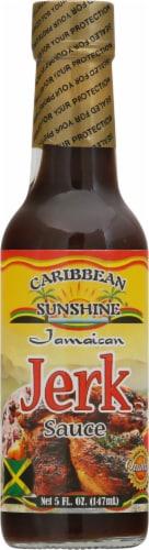 Caribbean Sunshine Jamaican Jerk Sauce Perspective: front
