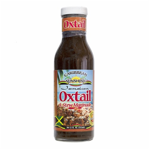 Caribbean Sunshine® Jamaican Oxtail & Stew Marinade Perspective: front