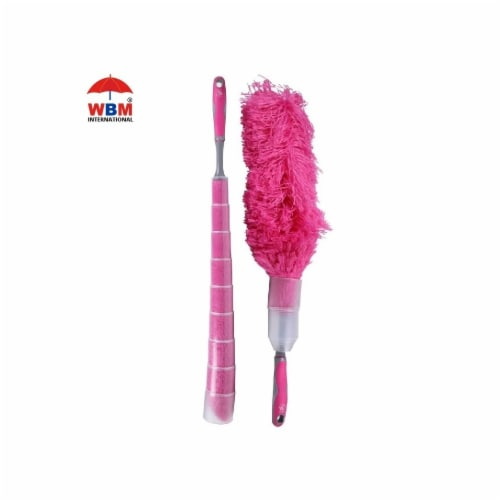 W Home Microfiber Duster, Flexible and Washable, Hand Dusters for Household Cleaning Perspective: front