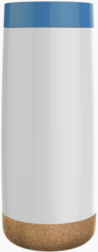 Ello Cole Insulated Travel Mug - White/Midnight Perspective: front