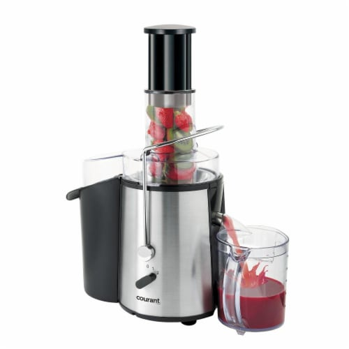 750 Watts Power Juicer with Juice Cup Perspective: front